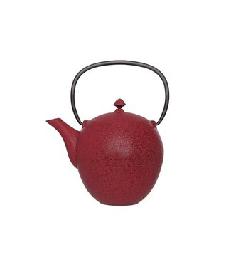 Cosy & Trendy Pear Theepot M.filter Tsp80 Donkerrood 1l Gietijzer