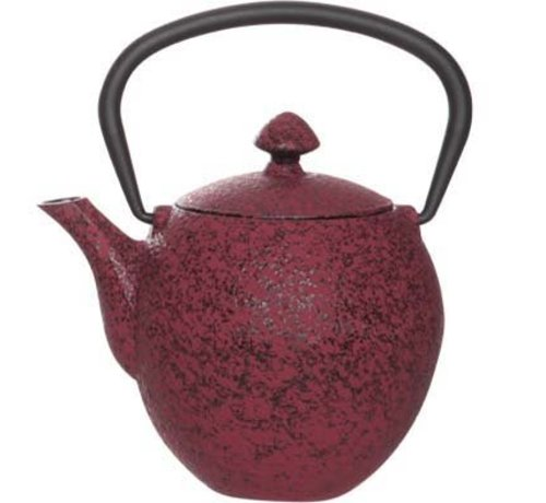 Cosy & Trendy Pear Theepot M.filter Tsp55 Donkerrood 0,33l Gietijzer