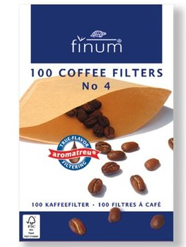 Finum Finum 100 Filters For Coffee Nr4 (set of 10)