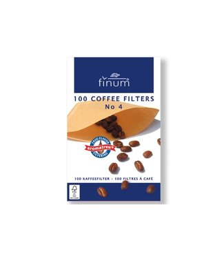 Finum Finum 100 Filters For Coffee Nr4 (10er Set)