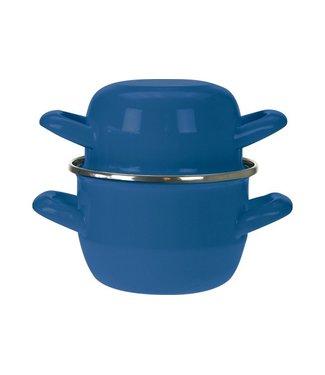 Cosy & Trendy For Professionals Mosselpot Blauw D12cm (set van 6)