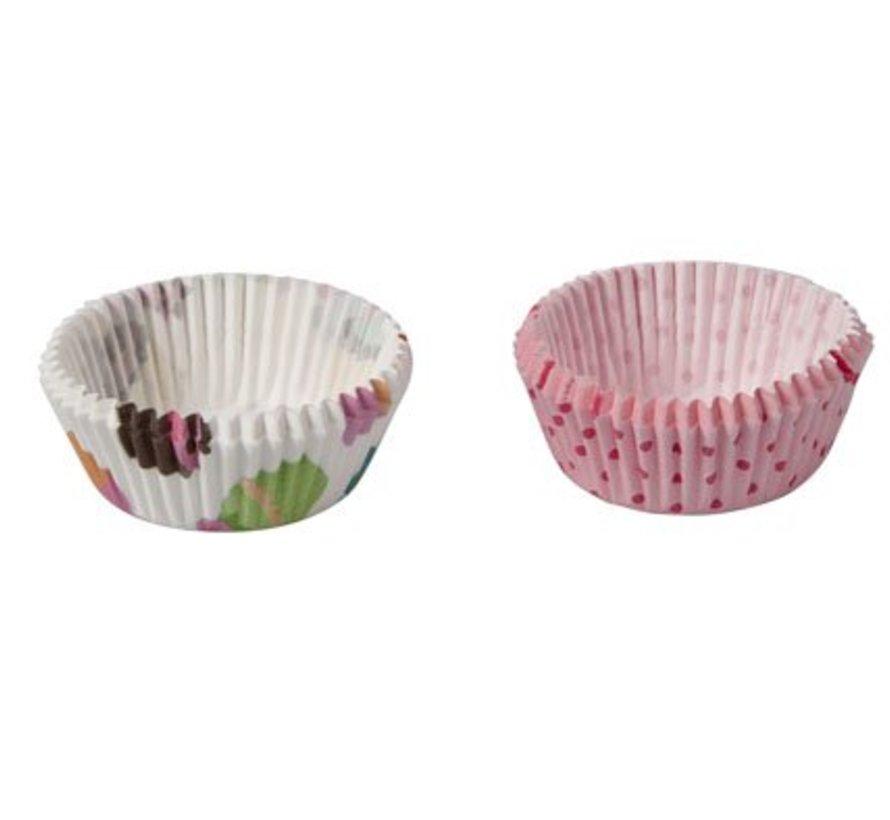 Bakvormpje Deco S722ass D9xh4cm Dots-cupcakes (set van 20)