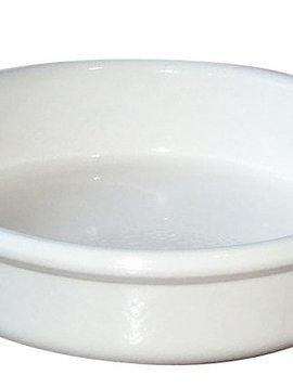Regas White Creme Brulee D14-h3.5cm (set of 24)