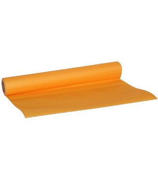 Cosy & Trendy For Professionals Ct Prof Table Runner Orange 0,4x4,8mpaper Textile-touch