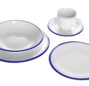 Cosy & Trendy Pleasure Blue Dinnerset Set20