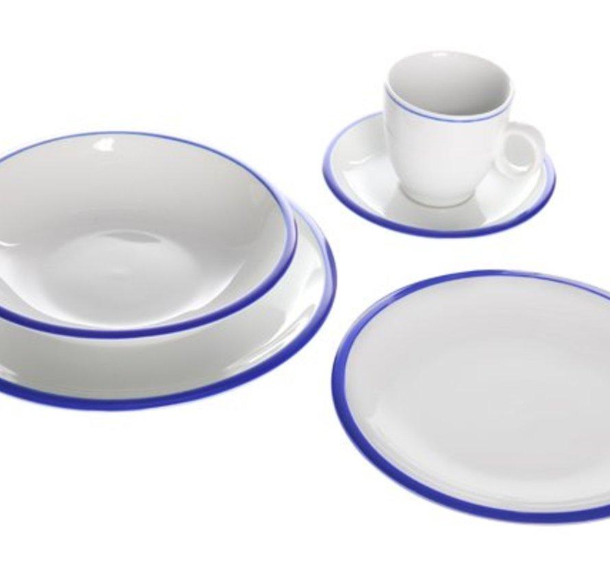 Dinnerset Pleasure Blue 20 Teilig