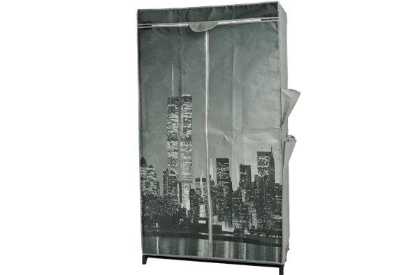 Cosy & Trendy Kleerkast 87x46x156cm New York Designnon Woven