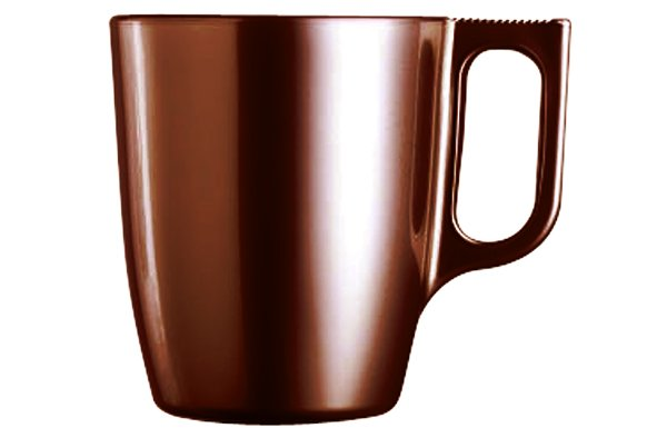 Luminarc Flashy Colors Mug Chocolate 25cl (set van 6)