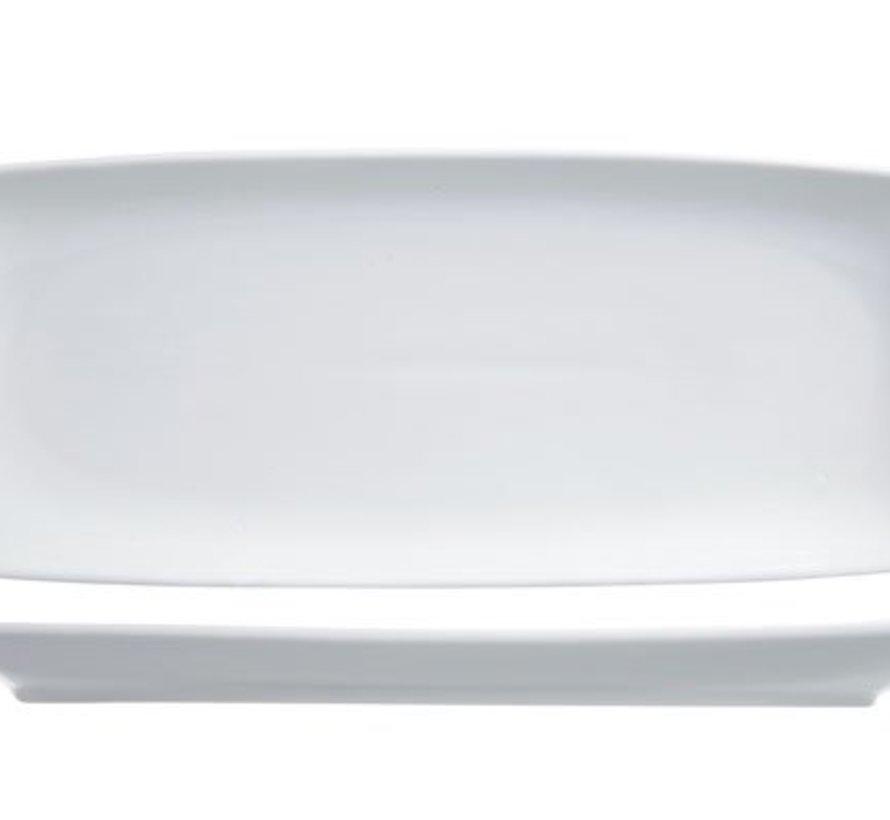 Avantgarde Plat Bord 25x10,5cm Rechthoekig Nbc (set van 6)