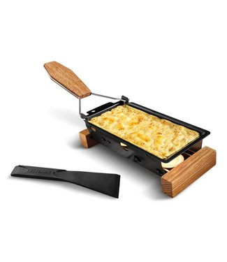 Boska Oslo Partyclette Togo 20x9.5x5.5cmbarbeclette-frame-spatula-3tlicht