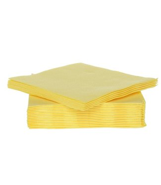 Cosy & Trendy For Professionals Ct Prof Napkin Tt S40 25x25cm Yellowpaper Textile-touch