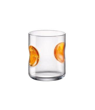 Bormioli Giove Goblet Fb 31cl Oranje (set van 6)