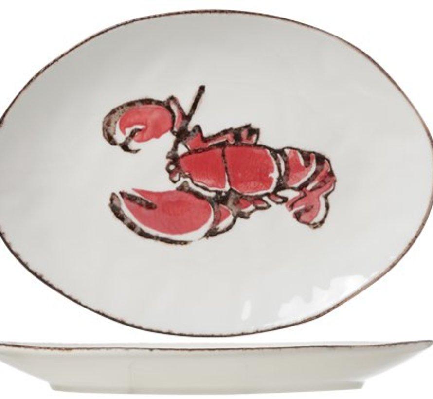 Lobster Ovale Schotel 37x27cm
