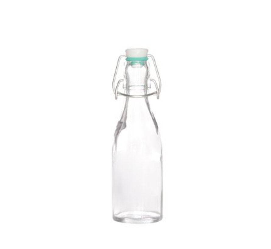 Melkfles Glas 200ml (set van 20)