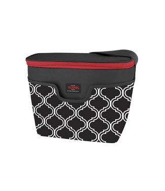 Thermos Raya Premium Brooke Cooler 9 Canblack-white 29x17x23cm - 9can - 5h Cold