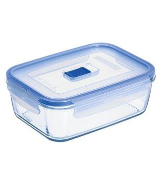 Luminarc Pure-Box-Active - Vershouddoos - 1,22 Liter - Glas - (set van 3)