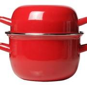 Cosy & Trendy For Professionals Horeca Mussel Pot 18cm Red -1.2kg-2.8l