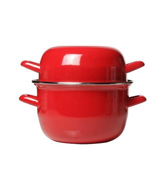 Cosy & Trendy For Professionals Horeca Mussel Pot 18cm Red -1.2kg-2.8l