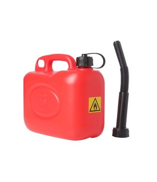 Brandless Jerrycan Red 5l - Fuel (10er Set)