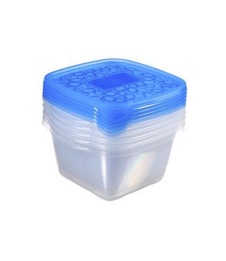 Curver Take Away Food container Blue 1.1 L (set of 10)