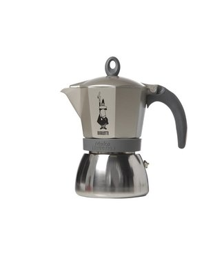 Bialetti Moka Induction Cafetiere 6t Gold-greyall Hobs