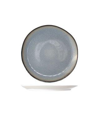 Cosy & Trendy Fez Blue Dessert Plate D22.5cm  - Ceramic - (Set of 6)
