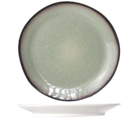 Cosy & Trendy Fez Green Dessert Plate D22.5cm (6er Set)