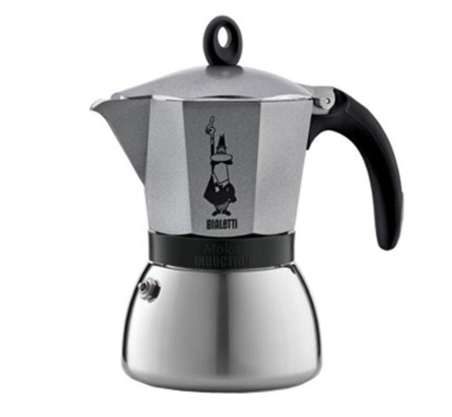 Moka Induction Koffiekan 3t Goud-grijsalle Vuren
