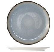 Cosy & Trendy Fez Blue Plat Bord D28cm (set van 4)