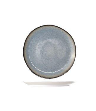 Cosy & Trendy Fez Blue Dinerborden D28cm  - Aardewerk - (Set van 6)