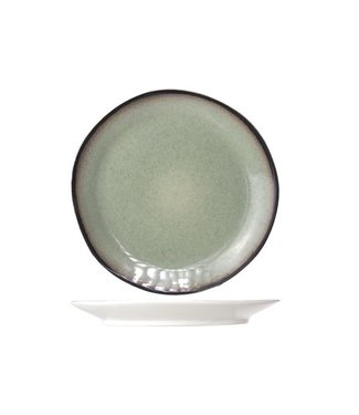 Cosy & Trendy Fez Green - Dinner plates - D28cm - Ceramic - (Set of 6)