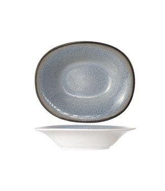 Cosy & Trendy Fez Blue - Plato hondo ovalado 17.5x21.5cm (juego de 6)