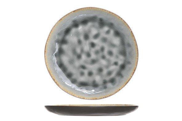 Cosy & Trendy Laguna Blue-grey Dessertbord 20cm Rond (set van 6)