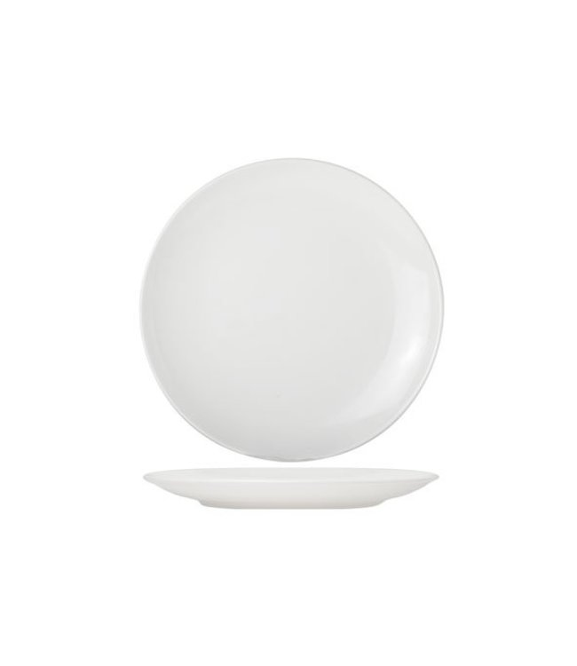 Cosy & Trendy For Professionals Adesso - Dinerbord - Wit - D29cm - Porselein - (Set van 6)