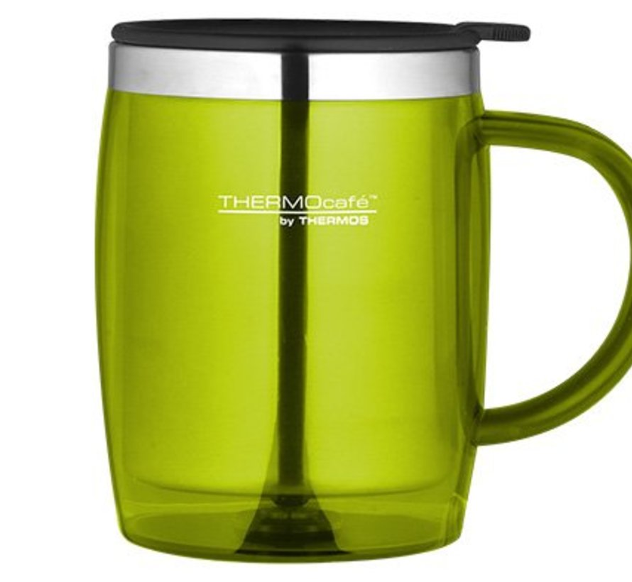 Desk Mug Lime 0.45l9x9x12cm