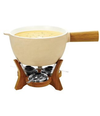 Boska Mr Big Party Kaasfondue 60x32x16geel-6.5l Fonduepan