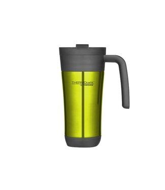 Thermos Flip Lid Travel Mug 425ml Limed10xh19.5cm - Met Handvat