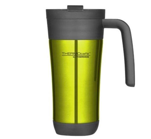 Thermos Flip Lid Travel Mug 425ml Limed10xh19.5cm - Mit Griff