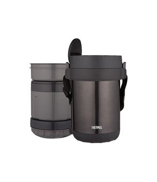 Thermos Jbg Lunchjar With 3 Seperate Compartmentand Spoon 300ml-400ml-600ml