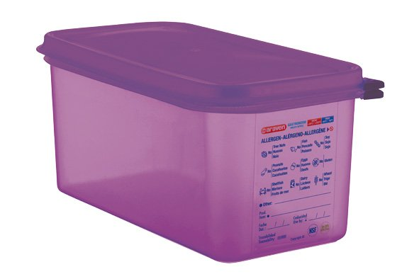 Araven Airtight Food Cont Gn1-3 Purper 6l 32.5x17.6x15cm Polypropyleen