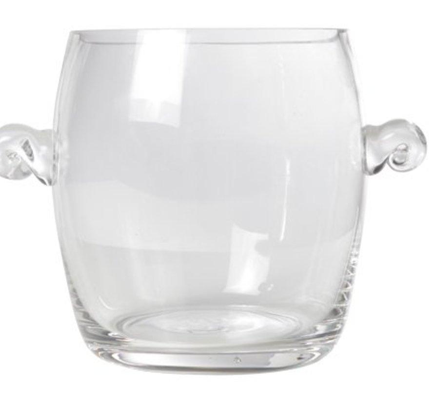 Champagne-emmer Mini Glas D14xh17cm