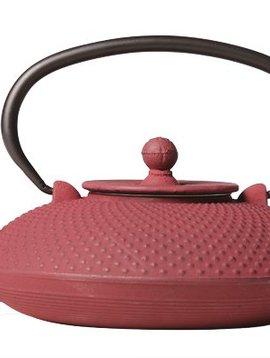 CT Nara Teapot Bordeaux Cast Iron 800ml With Filter
