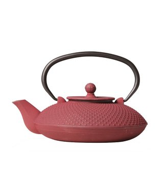 Cosy & Trendy Nara Teapot Bordeaux Cast Iron 800ml With Filter