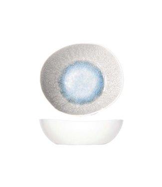 Cosy & Trendy Medusa - Tiefe Teller - Grau Blau - Keramik - (6er Set)