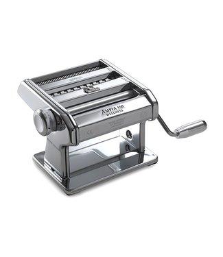 "Marcato Máquina de pasta clásica ""Ampia 150 Wellness"" - 3 tipos de pasta: lasaña - tagliatelle - taglioline"