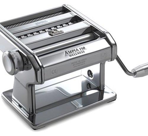 """Marcato """"Ampia 150 Wellness"""" Classic Pasta Machine - 3 types of Pasta: lasagne - tagliatelle - taglioline"""