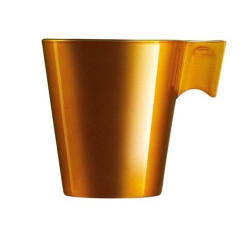 Luminarc Flashy Expresso Longo 22 Cl Gold (set van 6)