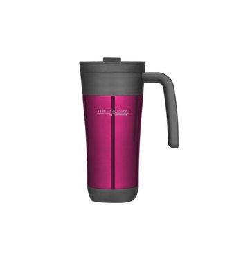 Thermos Flip Lid Travel Mug 425ml Ultra Pinkd10xh19.5cm - Met Handvat