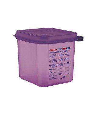 Araven Food Cont Airtight Gn 1-6 Purper 2.6l17.6x16.2x15cm - Pp (set of 6)