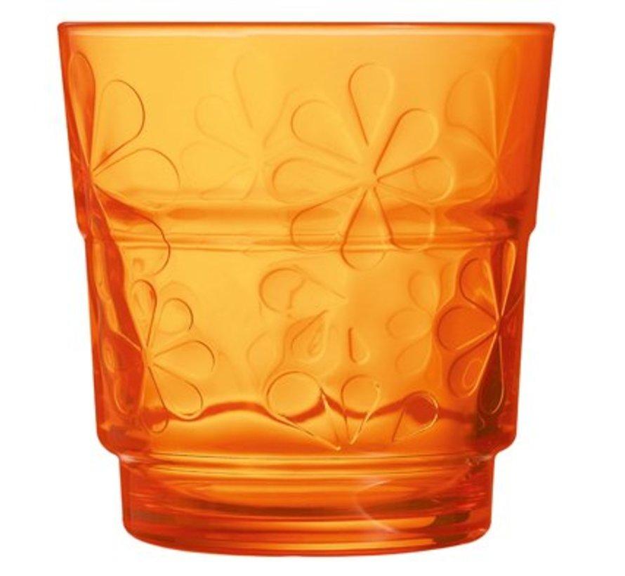 Funny Flowers Tumbler Fb Oranje 25cl
